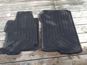 Honda Accord front and rear car mats.