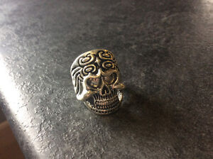 Skull Ring Stainless Steel Size 9.5