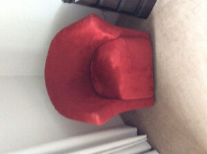 Red Tub Chair for Sale