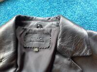 Ladies Nuage Debenhams leather Jacket.