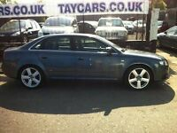 SALE NOW ON!! 2006 STUNNING AUDI A4 SLINE 140 TDI
