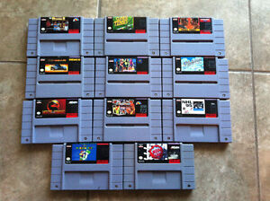 Classic SNES games for cheap