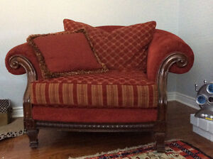 One of a kind RED Accent Chair - Pick Up Only