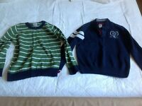 2 boys jumpers age 7 from Crew Clothing