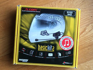 Système de communication pour casque de moto Nolan basic kit 2
