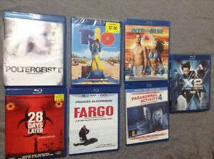 Blu-rays for Sale !