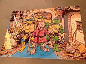 Teenage mutant ninja turtles vintage puzzle Windsor Region Ontario image 1
