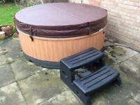 Rotospa OrbisSpa hot tub spa like jacuzzi with cover and steps 13A