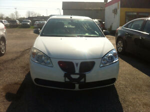 2008 PONTIAC G6 Sedan  SAFETY +E TEST $ 4200 +HST