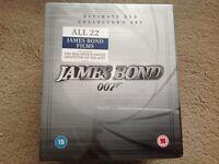 Bnib James Bond dvds