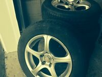 RIMS & TIRES !!** NEW PRICE !! ** IN MINT CONDITION !!