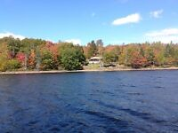 Cottage on lake at lock alva turn key