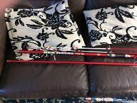 K2 red metal sea fishing rod