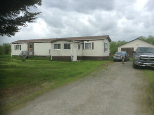 MATHESON COUNTRY MOBILE HOME and GARAGE on 3.6 ACRES