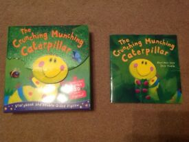 Crunching munching caterpillar book & jigsaw