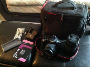 Canon T2i Camera package for sale