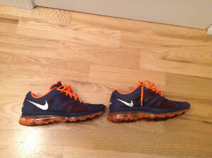 Authentic Nike Air Max navy orange