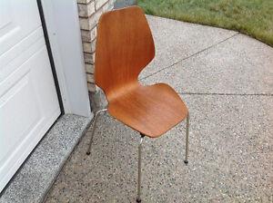 Bent Wood Mid Century Chair Regina Regina Area image 2