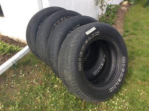 Tires for light truck