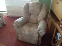 Recline and swivel chair