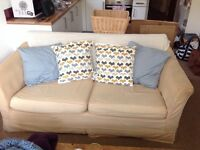 Lovely old style 3 seater sofa.