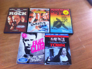 Fight Club, The Town, Other DVDs & Blu Rays