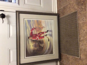 "Detroits ""Mr Hockey"" Gordie Howe print - just reduced price!"