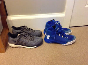 Adidas and Under Armour Shoes