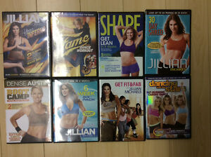 Workout DVD's must go!!!