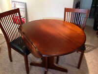 Dufresne Dining table plus 3chairs