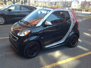2013 Smart Fortwo Design rouge Cabriolet
