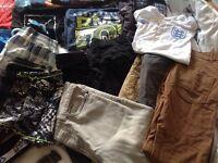50 items Boys Clothes, Age 9-10 & 11-12