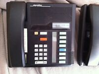 Nortel Meridian Telephone Black M7208 Business telephone
