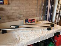 Thule Locking Roof Bars for Audi A6 Avant