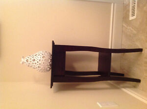 Pier One table and pear