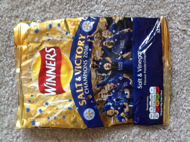 Salt and Victory Crisp Packets for Sale