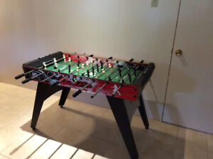 Baby foot ( soccer sur table)