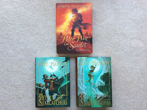 3 Books PETER PAN in Scarlet & Two Other Novels
