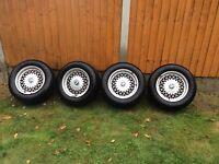 BMW 5 series E34 alloys & tyres