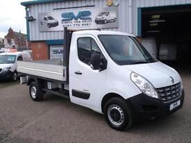 2011 60 RENAULT MASTER DCI MWB ALLOY DROPSIDE PICKUP 100BHP 6 SPEED 60,000 MILES