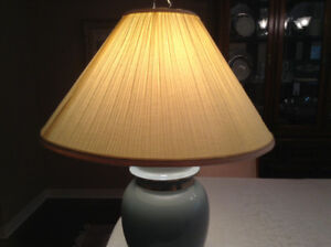 Blue lamp shade buy or sell indoor home items in ottawa kijiji 3 way light table lamp mozeypictures Images