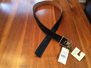 Calvin Klein Women's Leather Belt - NEW