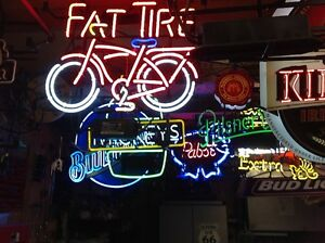 NEON BEER SIGNS, OVER 60 TO CHOSE FROM