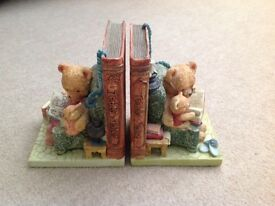 Teddy Tales Vintage Bookends