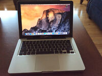 MacBook 13.3 inch LED backlit glossy widescreen display upgraded