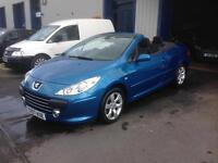 2007 Peugeot 307cc. Stunning colour. Genuine 37000 miles only.