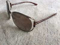 TOM FORD designer sunglasses with original case and cloth. As new