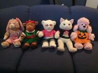 Nine Build-a-bears