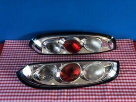 VAUXHALL / OPAL CORSA C 00-06 CLEAR LEXUS REAR TAIL LIGHTS