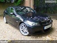 BMW 3 SERIES 325I M SPORT 2008 Petrol Automatic in Black